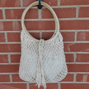 Vintage 60s handmade boho hippie bag purse